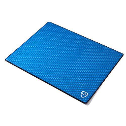 SYB - Laptop-Unterlage - Schutz vor EMF-Strahlung & Hitze (17 Zoll, Blau) -