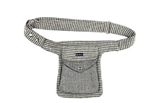 Moshiki Side Pocket #13 Tweed (Grey Beige 5) (Tweed-wrap)