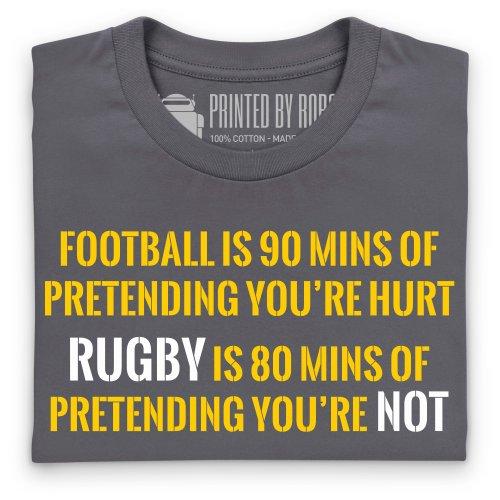 Pretend T-Shirt, Herren Anthrazit