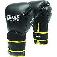 Londsdale Boxen Handschuhe X-Lite Training Gloves - Guantes de boxeo para entrenamiento, color Negro, talla M