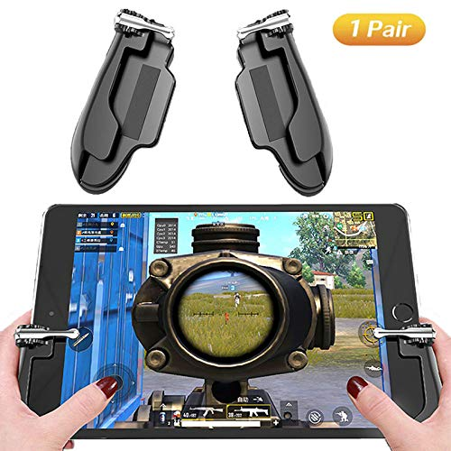PUBG Mobile Game-Controller für iPad, Ismael Erickson Tablet Handy Trigger Sensitive Shoot und Ziel L1R1 Handy Gamepad Joystick