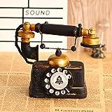 YONG telefoni antichi Vintage Retro ornamenti, la finestra in ferro battuto bar puntelli decorativi