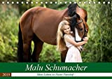 Malu Schumacher Mein Leben ist (k)ein Ponyhof ! (Tischkalender 2019 DIN A5 quer): Eine Fotoauswahl vom Sommer 2017 zeigt hier Malu Schumacher und ihre ... (Monatskalender, 14 Seiten ) (CALVENDO Tiere)