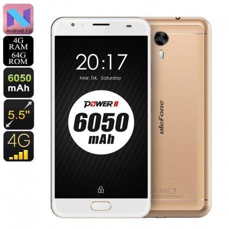 HK Lager Telefon Android Baum Ulefone Leistung 2-Octa CPU, 4GB RAM, 6050mAh, 1080p, IMEI 2, 4g, 13MP Kamera (oder