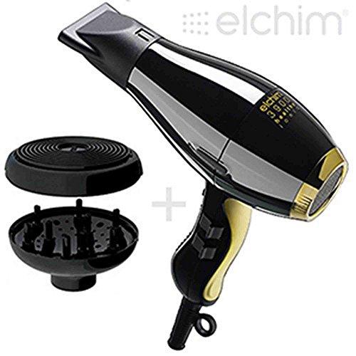 ELCHIM 3900 PHON HEALTHY IONIC BLACK e GOLD con DIFFUSORE COCOON