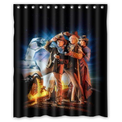 LOVELIFE Back To The Future 3 Poster Film Art Custom Shower Curtain 60