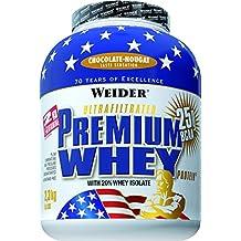 Weider Protéines en poudre Premium Whey  Choco/Nougat  2300 g