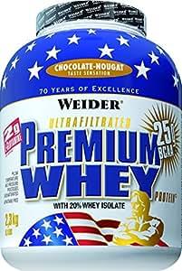 Weider Premium Whey, Schoko - Nougat, 2300 g