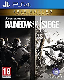 Rainbow Six Siege Gold (PS4) (B01LS3ZBDS) | Amazon price tracker / tracking, Amazon price history charts, Amazon price watches, Amazon price drop alerts