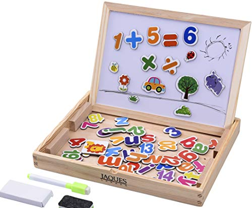 Count and Spell Wooden Toys Craft set - Perfect Educational Wooden Toys. Great Montessori Toy for All Children Both Boys and Girls 3 4 5 6 7 8 Year Olds - Quality Guaranteed for Over 220 Years
