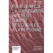 La subrogation du crédit d'impôt des services à la personne