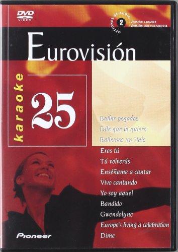 Karaoke 25 Eurovision [DVD]