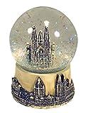 Schneekugel Köln/Kölner Dom (9cm) (beige)