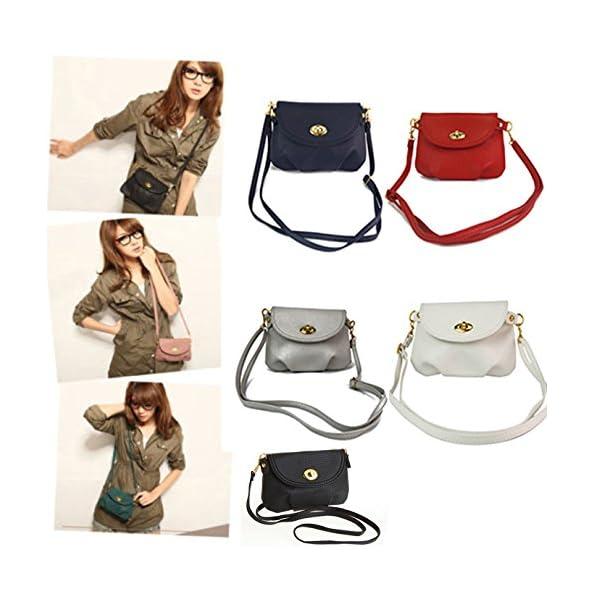 West See, Damen Kleine Tasche Umhängetasche Schultertasche Handtasche Citytasche , Farbenwahl