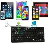 Navitech Clavier Bluetooth français AZERTY Compatible avec QILIVE Tablette Tactile QILIVE - Ecran IPS 10.1'