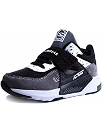 Sneakers Enfant Baskets Montantes Garcon Chaussure de Course Mode Garcon Fille Sport Running Shoes Competition Entrainement