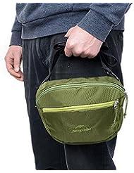 Naturehike unisex de múltiples funciones de la cintura bolsa bandolera bolsa de Deportes Messerger