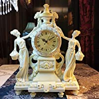 Orologi europei/ Angel clock/ desktop clock/Resina creative living room orologi/ moda ornamenti/
