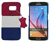 3Q Cover Samsung Galaxy S6 Custodia Samsung S6 Novit… maggio 2016 Top Design esclusivo Svizzero Cover S6 Rosso Bianco Azzurro Blu