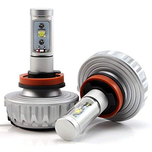 2× 9005 HB3 H10 led Birnen Auto scheinwerfer Kit 60W 4400LM 12V 24V Kfz Autolampe Abblendlicht mit CREE Chips 1 Jahre Garantie