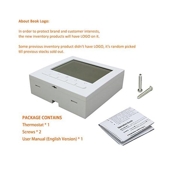 Schema Collegamento Di Termostati A Elettrovalvole E Caldaia : Beokbot w termostato ambiente cablato programmabile