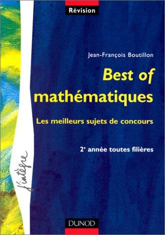 Best of mathématiques : Les meilleurs s...