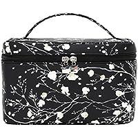 Coréen noir cosmétique cas de voyage à domicile boîte de rangement cosmétique simple et facile à transporter sac cosmétique