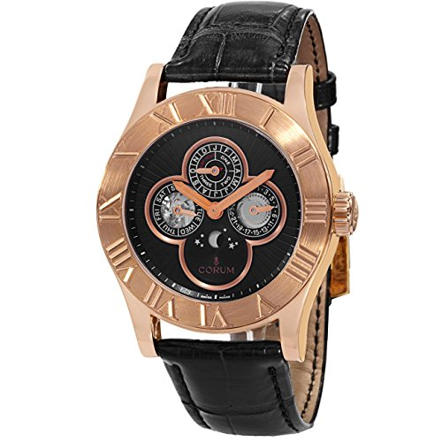 Corum Men's Romulus Perpetual Calendar Automatic Watch 183.510.55/0001 BN58