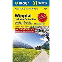 Wipptal und seine Seitentäler XL: Wander-, Rad- und Mountainbikekarte. GPS-genau. 1:25000 (Mayr Wanderkarten)