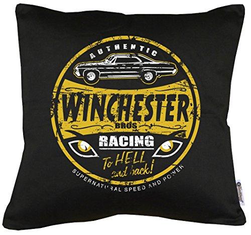 TLM Winchester Bros Racing Kissen mit Füllung (Halloween Racing Kostüme)