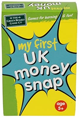 My First UK Money Snap from The Green Board Game Co.
