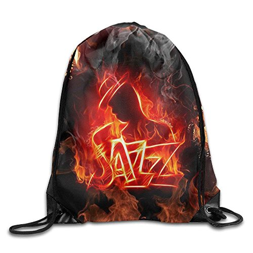 pants hats Adult & Baby Frogs Drawstring Bag Backpack Draw Cord Bag Sackpack Shoulder Bags Gym Bag Large Lightweight Gym for Men and Women Hiking Swimming Yoga HDQ Beautiful Jazz - Adult Jazz Pant