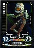 STAR WARS FORCE ATTAX SERIE 3 CLONE WARS - STARKARTE - Nr. 195 AHSOKA TANO - NEU
