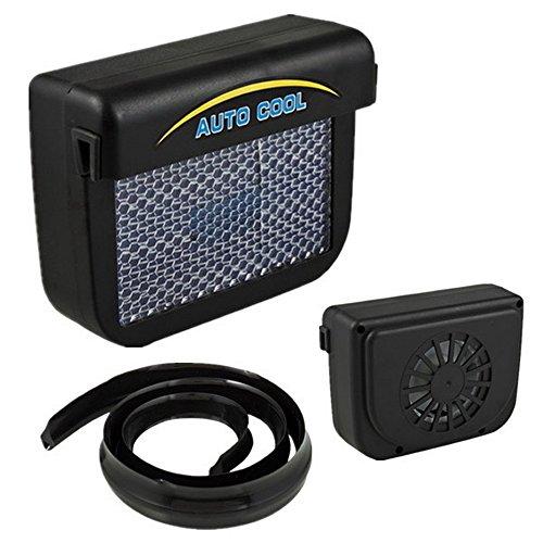 Preisvergleich Produktbild BAAQII Car Auto Air Vent Cool Fan Cooler Ventilation System Radiator in Solar Sun Power