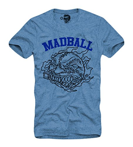 E1SYNDICATE MADBALL T-SHIRT S/M/L/XL HARDCORE EMMURE BORN FROM PAIN BLUE