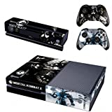 Mortal Kombat X Designer Sticker For Xbox One Kinect And Controller Sets
