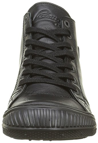 Pataugas Rocker/N F4b, Baskets Hautes Femme Noir