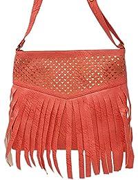 TYPIFY® Leatherette PU Cross Body Sling Bag For Women And Girls College Office Handbag/Sling Belt Stylish Latest...