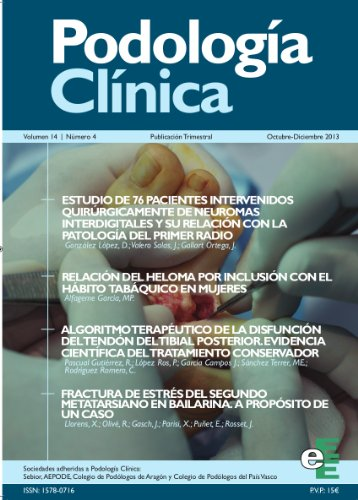 Podología Clínica 4-2013 por Varios Autores