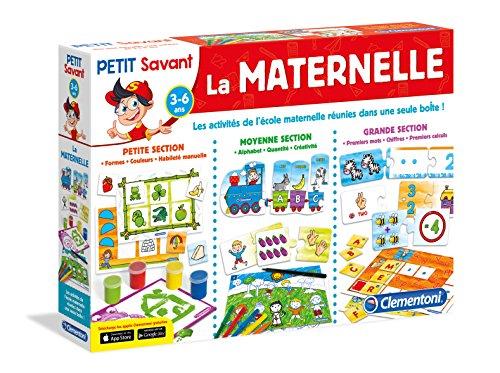 Clementoni 62411-La Maternelle-Jeu éducatif