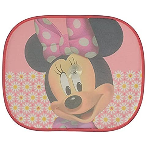 XtremeAuto® Disney Pixar Minnie Mouse Side Car Sunshade X2 - Complete with XtremeAuto Sticker