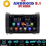 ANDROID 7.1 FULL-TOUCH 9 Pollici GPS USB SD WI-FI DAB+ Bluetooth autoradio navigatore Mercedes Classe B W245 classe A W169/B200/B150/B170/A180/A150 Sprinter/Viano/Vito