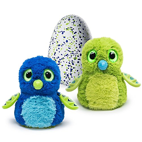 hatchimals  Draggles green/blue