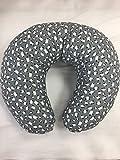 Best cuscino corpo Boppy - Morbido cuscino per allattamento e gravidanza,sfondo grigio con Review