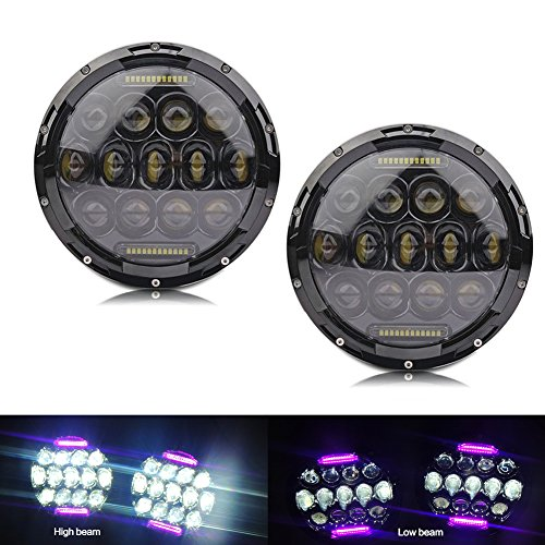 7inch-75w-high-beam-35w-low-beam-round-black-phillips-led-headlight-6000k-pink-drl-for-jeep-wrangler