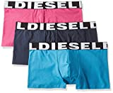 Diesel 3er Pack Boxer Shorts, Shawnthreepack, Pants 3Pack - Farbauswahl: Farbe: Pink/Marine | Größe: 6 (Gr. Large)