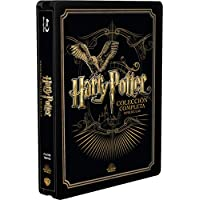 Pack Harry Potter - Colección Completa Golden Steelbook 2019 Bd