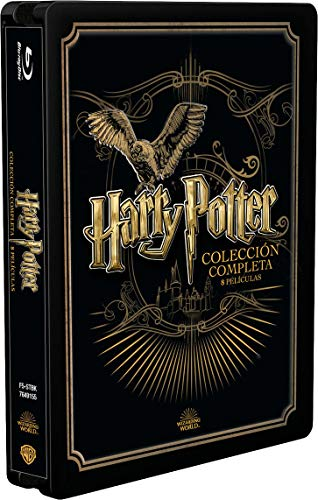 Pack Harry Potter - Colección Completa Golden Steelbook