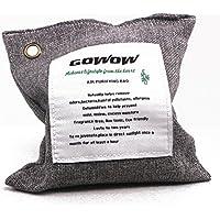 GOWOW Naturalmente Attivato Bamboo Bag di purificazione dell'aria, Bag Carbone