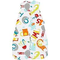 Grobag - Saco de dormir con diseño de elefantes de 1,0 tog, para 3-6 años